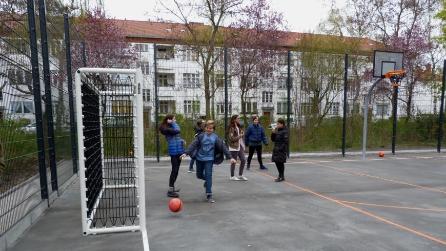 Bolzplatz im Peter-Witte-Park