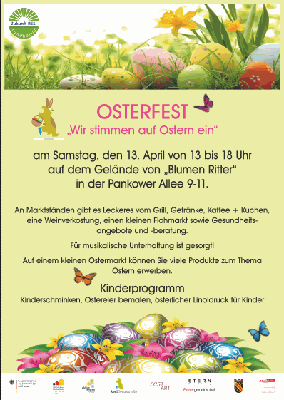 Osterfest Residenzstraße 2019