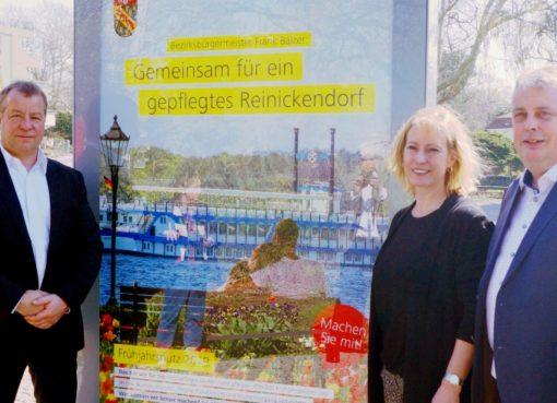 Reinickendorf macht sauber: Frühjahrsputz gestartet