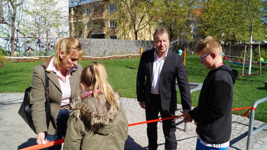 Eröffnung: Spielplatz Hoppestraße