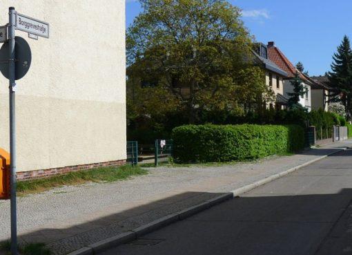 Borggrevestraße Ecke Waldowstraße