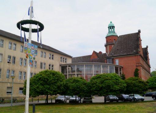 Maibaum auf der Rathauswiese
