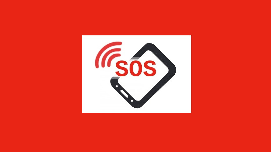 SOS-Notruf-Touchpoint