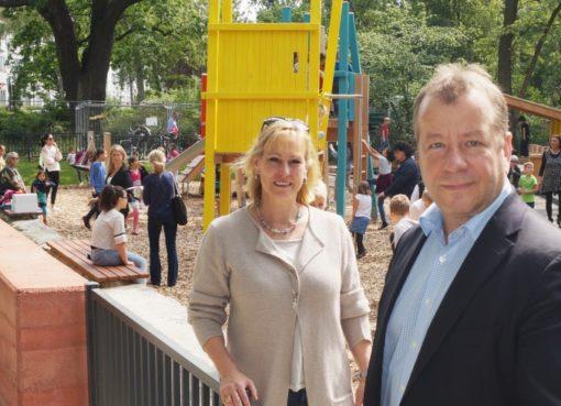 """Eröffnung Spielplatz """"Am Nordgraben"""""""