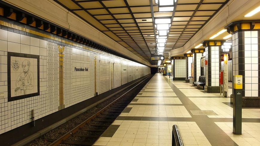 U-Bahnhof Paracelsus-Bad