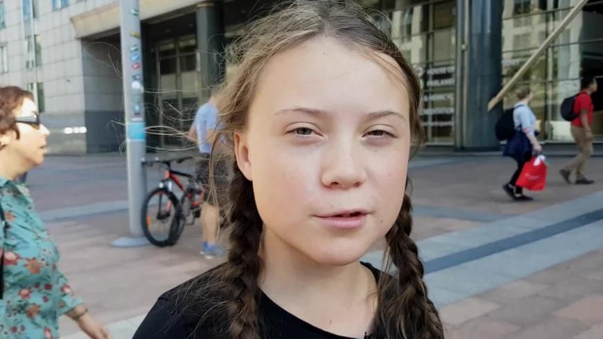 Greta Tintin Eleonora Ernman Thunberg am 6.10.2018 in Brüssel - Foto: Jan Ainali CC BY-SA 4.0