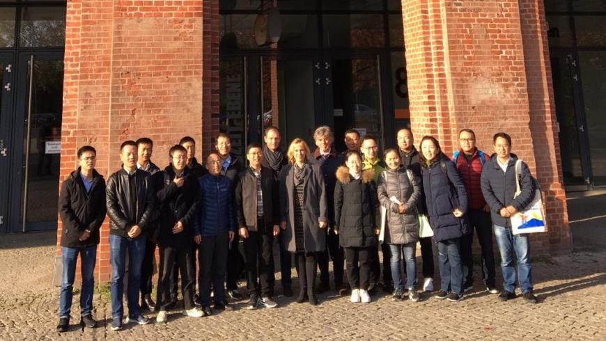 Delegation aus Hangzhou