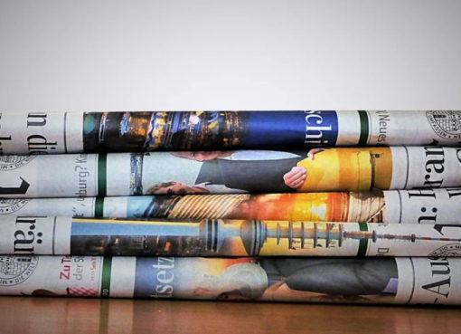 Tageszeitung in der Krise