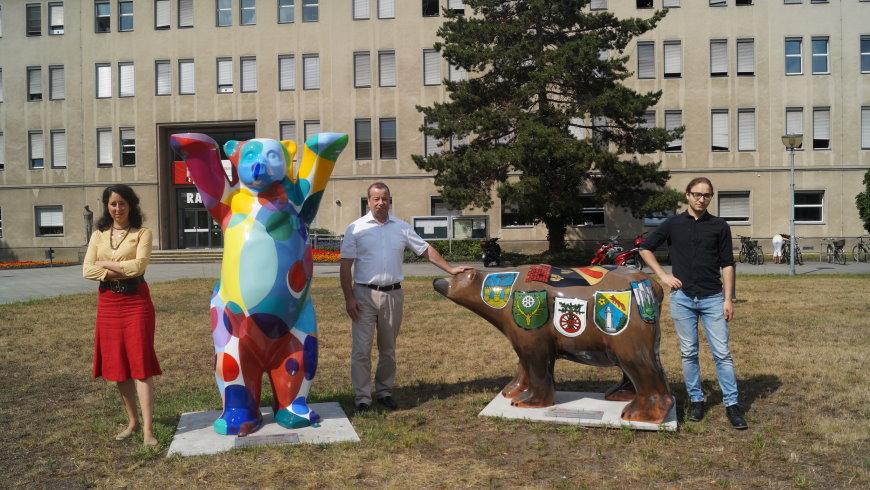 Buddy-Bären am Rathaus Reinickendorf