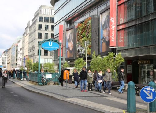 """Flaniermeile Friedrichstraße"""