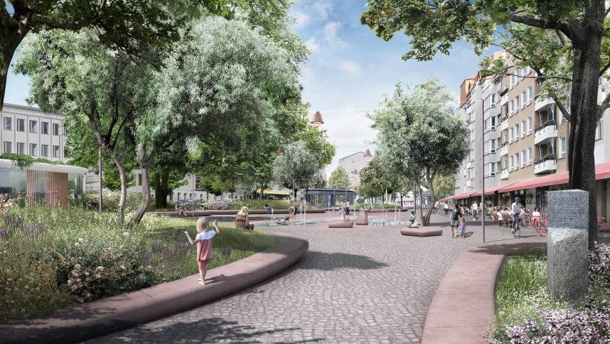 Entwurf: Franz-Neumann-Platz