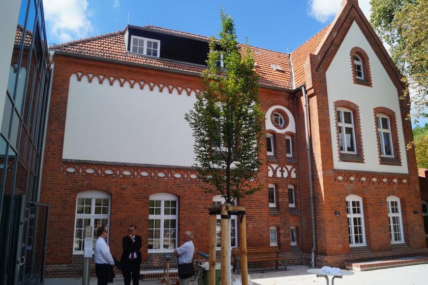 Caritas-Hospiz in Hermsdorf in der Kurhausstraße 30 - 13467 Berlin - Foto: Bezirksamt Reinickendorf