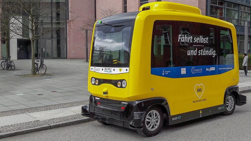 Fahrerloser Bus Easymile EZ 10