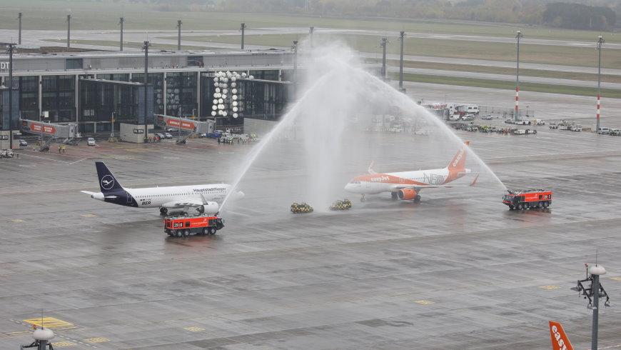 Eröffnung Flughafen Berlin Brandenburg Willy Brandt (BER)