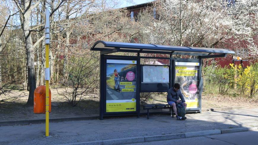 BVG BUS-Haltestelle