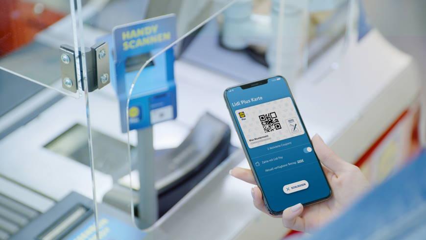 Lidl Pay mit Lidl-Plus-App