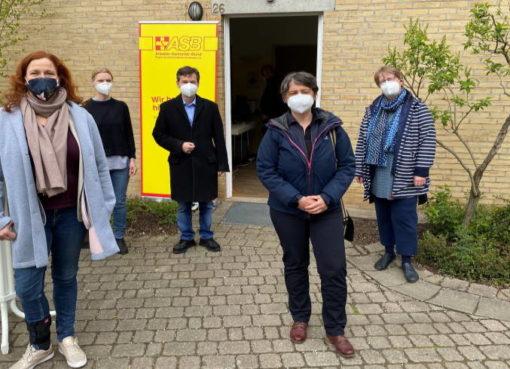 Teststelle im Diakoniezentrum in Heiligensee