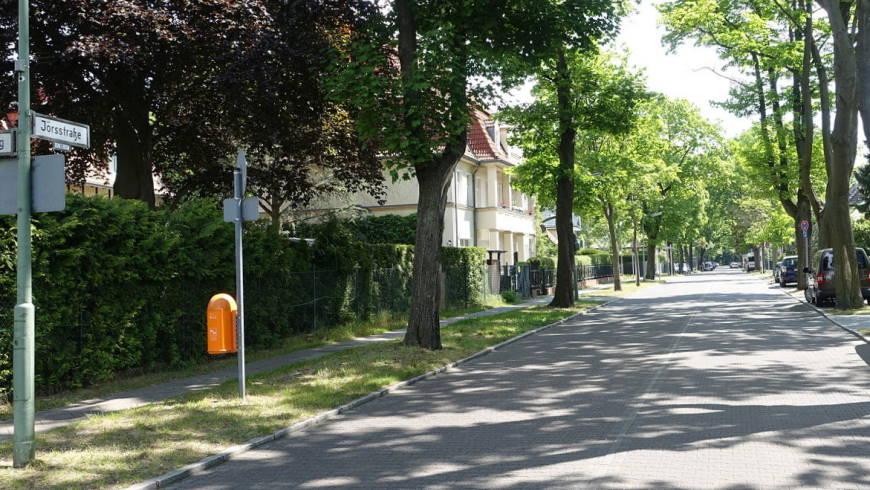 Jörsstraße in Tegelort