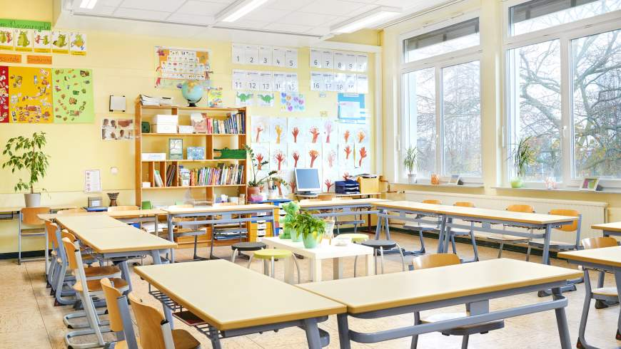 Lüftung und Luftfilter in Schulen