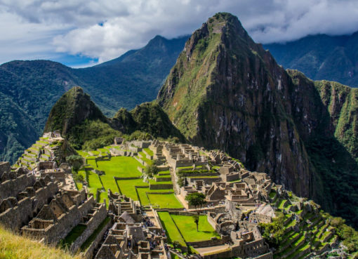 Machu Picchu erhält von Green Initiative das Siegel der Klimaneutralität