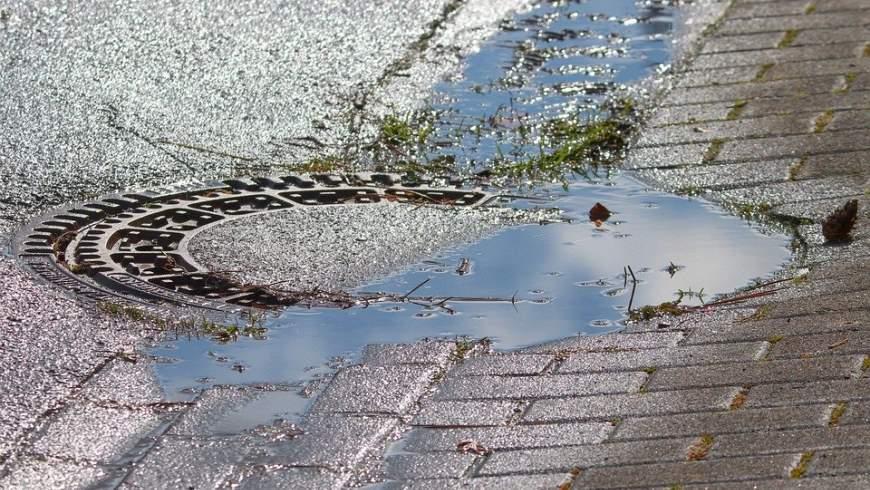Regenwasserablauf